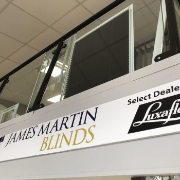 James Martin Blinds Showroom
